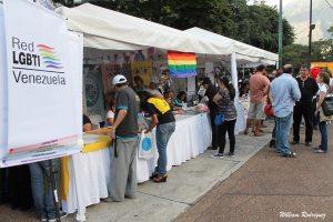 Red LGBTI en el concierto juntos sin discriminación