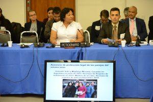 Quiteria Franco y Yonatan Matheus representan a la Red LGBTI ante la CIDH