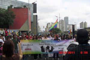 Marcha a la Asamblea Nacional. 22 de febrero de 2011.