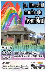 Convocatoria a Marcha a la Asamblea Nacional