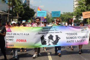 Cuarta caminata contra la homofobia y transfobia en Caracas