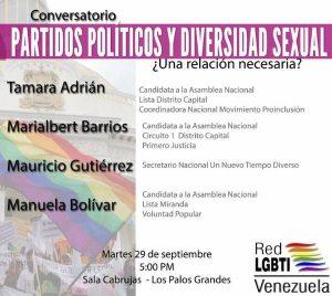 partidos pooticos y diversidad sexual